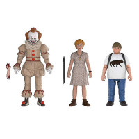 Набор Funko Action Figures It 2017 - Pennywise, Ben, Beverly Poseable Figures 3-Pack, 12 см, 30011