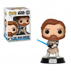 Фигурка Funko POP! Star Wars: Clone Wars - Obi Wan Kenobi Vinyl Figure, 31796, 10см